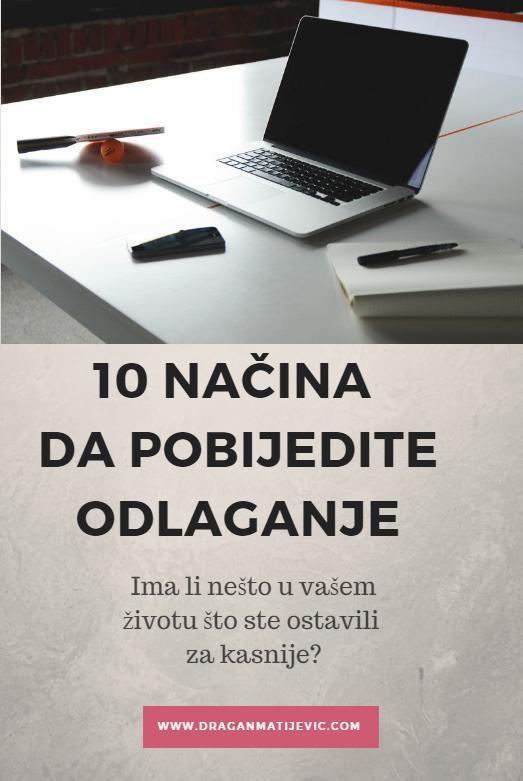 10 načina da pobijedite odlaganje